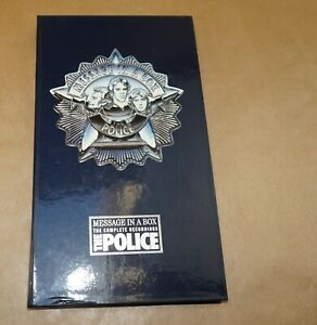 tHE pOLICE ○ Message in a Box ○ 4 CD´s ○ Booklet ○ ungespielt ○ A&M 540150-2 ○