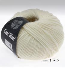 Lana Grossa Cool Wool Laine Mérinos Lavable en Machine Fb 432 Ecru