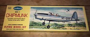 Guillow's DHC-1 Chipmunk Flying Model Kit