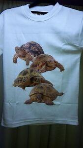 Tortoise T-Shirt Mens, Ladies, Child sizes.   Reptile