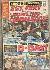 SGT. FURY AND HIS HOWLING COMMANDOS ANNUAL #2  MARVEL COMICS