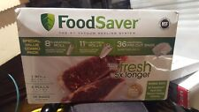 FoodSaver Clear Heat Seal Rolls With Precut Bags
