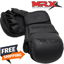 MRX Boxing MMA Gloves Grappling Punching Bag Training Martial Arts Sparring 7 OZ