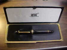 Rare Montblanc Fountain Pen MeisterStuck 149  , Nib  4810 14 K GOLD with BOX