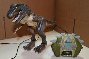 Vintage 1998 Godzilla Figure Remote Control T Rex Dino by Toy Biz Toho Co. Ltd