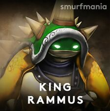 King Rammus 1-29 NA LVL League of Legends (LoL) Account