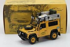 ALMOST REAL 1/18 MODELLINO AUTO DIE CAST LAND ROVER DEFENDER 90 TDI CAMEL TROPHY
