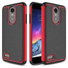 For LG Aristo 2/Plus/Tribute Dynasty Shockproof TPU Hybrid Hard Phone Case Cover