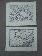 CARTE ET PLAN de HAN (Somme). XVIIème.