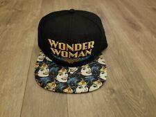 DC Comics Wonder Woman Snapback Style Hat Cap One Size Adjustable