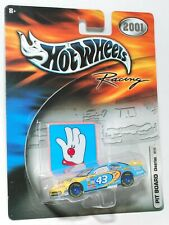 HOT WHEELS Racing 2001 PIT BOARD FORD #43 CHEERIOS JOHN ANDRETTI FACTORY SEALED