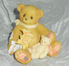 New ListingEnesco Cherished Teddies 202959A Lily Spring Flowers Hope Bear Figurine