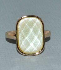 Avon Shining Stars Ring, Sz 10, Goldtone, Faux Jade Color, New N Box, Free Ship