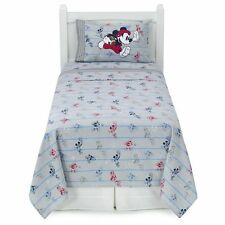 NEW! Jumping Beans Disney Mickey Mouse SPORTS Ball Flannel Sheet Set Full Size
