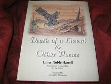 Death of a Lizard and Other Poems by James N. Harrell (1998, Hardcover) Signed