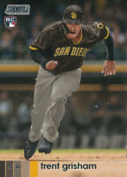 Trent Grisham 2020 Topps Stadium Club Rookie Card RC #152 San Diego Padres