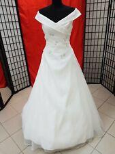 TOP ! Brautkleid Gr. 40 ivory von just for you  sehr edel handbestickt neu