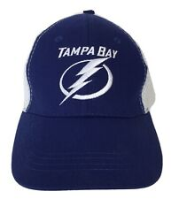 Tampa Bay Lightning Baseball Cap Bolts Hat Immediate Shipping