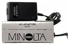 MINOLTA AC-2L AC ADAPTER  NUOVO