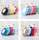 11 colors 10/15/20/25 mm Ribbon Wedding Party Craft Satin DIY hair Bow 25Yards