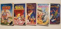 Walt Disney Classic Black Diamond VHS. (Dumbo, Jungle Book, Peter Pan) & More