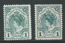1899TG Nederland Koningin Wilhelmina NR.77+ 49 postfris mooie zegels!