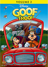 The Disney Afternoon Goof Troop Goofy & Son Max Disney Channel Series Vol. 2 DVD