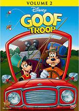 The Disney Afternoon Goof Troop Goofy & Son Max Disney Channel Series Vol. 2 DVD