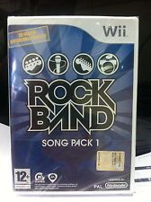 Wii  Rock Band song pack 1 - Nuovo
