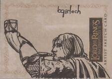"""Lord of the Rings Masterpieces II - Bruce Gerlach """"Boromir"""" Sketch Card"""