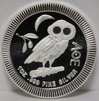 Owl .999 Silver Coin 2017 Niue $2 Athena Athenian - 1 oz Stackable - JX215