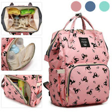 Lequeen Baby Nappy Portable Diaper Bag Mummy Large Travel Backpack � � *