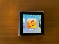 Apple iPod Nano 6th Generation 8Gb Silver Mc525Ll