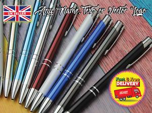 Personalised Metal Ballpoint pen Stationery ballpen Office school Prom Gift