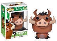 Funko POP! Disney The Lion King Pumbaa Vinyl Figure #87 Vaulted Rare
