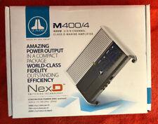 JL Audio M400/4 4 Ch. Class D Full-Range Marine Amplifier, 400W