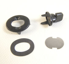Common Sense Eyelet & Stud, Turn Button Fasteners, Black Oxide Finish, 3 Pc.
