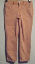 NWT Jessica Simpson Rolled Skinny Cropped Jeans Size 4/27 Color Peach