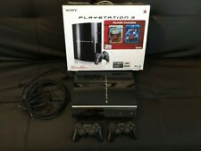 New listing Sony PlayStation 3 80Gb Black Console and controllers