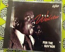 Ben Webster - For The Guv'nor CD