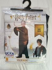 Harry Potter VOLDEMORT child's costume size sm 4-6 (3-4yrs) NEW Incl robe, mask