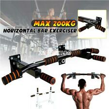 Gym Pull Up Exercise Bar Heavy Duty Ceiling Chin Up Bar Wall Mounted Fitness DHL