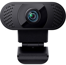 WANSVIEW Webcam 1080P Kamera mit Mikrofon USB 2.0 Plug & Play für Laptop PC