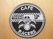 D123 ECUSSON PATCH THERMOCOLLANT CAFE RACER custom biker moto rock rockabilly