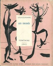 EO N° 1945 COLLECTION L'ÂGE D'OR 13 +  LOUIS SCUTENAIRE : LES DÉGRÉS