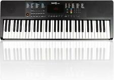 Keyboard  E-Piano RockJam Digital-Piano 61-Tasten schwarz Klavier Instrument