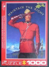 "Royal Canadian Mounted Police Puzzle 1000 pc. of A. Friberg ""Maintain The Right"""
