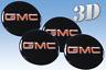 Wheel stickers GMC  (56mm.) Centre Cap Logo Badge Trims 3d decals Rims
