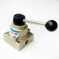 """Pneumatik Ventil 3 Position, G1/4"""" Hebelschalter HV-200D/VH-200-02"""