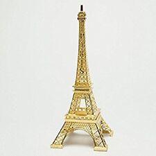 "Gold Eiffel Tower 10"" Cake Topper Centerpiece Gift Keepsake 10"""